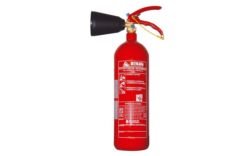 Extintor Co2 2Kg BILI