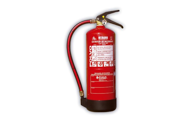 Extintor Pó Químico ABC 6 Kg BILI