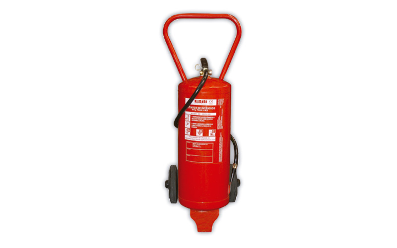 Extintor Pó Químico ABC 25 Kg c/ Carrinho BILI