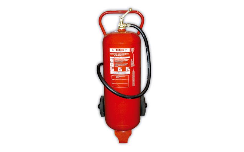 Extintor Pó Químico ABC 50 Kg c/ Carrinho BILI