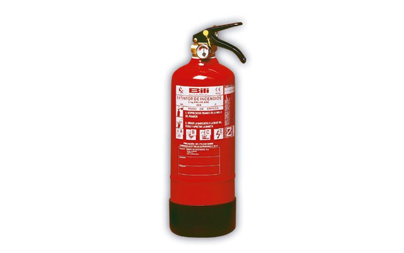 Extintor Pó Químico ABC 2 Kg BILI